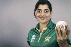 Sana Mir started her career as a fast bowler before a back injury turned her into a spinner.