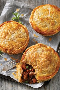 #RecipeoftheDay: Take your taste buds on a trip to Morocco with these Slow-Cooked Lamb Pies.
