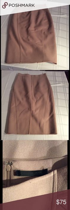 Donna Karan Black Label Wool Pencil Straight Skirt Like new condition. *Measured flat* Across waist: 14in. Across waist: 18in. Top to bottom hem: 30in DKNY Skirts Pencil
