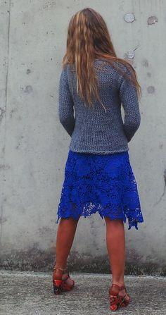 Gray sweater / staple gray sweater / alpaca mix gray by ileaiye