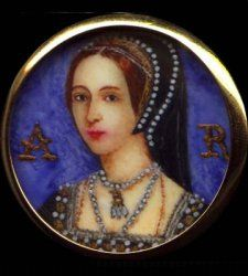 Miniature of Queen Anne Boleyn
