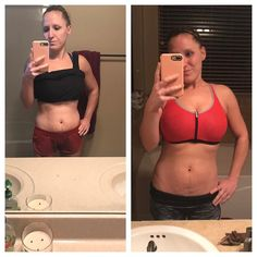 #TBT  Bye Bye holiday fluff!  Picture on the left was right after the holidays. I was drinking #allthewine and eating #allthefood. Picture on the right today 18 days into my 2nd round of Core De Force and living the 85/15 rule with my nutrition! I still get wine and food just not all of it ! I have 5 new spots open on my Operation New Year Fabulous You accountability group. If your ready to get rid of the holiday fluff drop your favorite emoji below or shoot me a pm and I will get you all of…