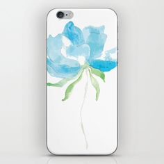 My color is blue iPhone Skin by anines-atelier Iphone Skins, All You Need Is, Vinyl Decals, Super Easy, Sticks, Bubbles, Phone Cases, Change, Artwork