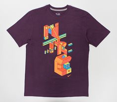 Graphics for Nike Sportswear Fall 2011 T-shirt collection.