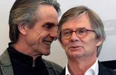"""British actor Jeremy Irons and Danish director Bille August (Photo: Manuel de Almeida/EPA/Lusa)    Jeremy Irons in Portugal to film """"Night Train to Lisbon""""   19 March 2012 via Portugal Daily View     Acclaimed English actor Jeremy Irons is in Portugal to film """"Night Train to Lisbon"""", an adaptation of Pascal Mercier's novel of the same name. For the next eight weeks, director Bille August will be working in Portugal filming the saga of Swiss teacher Raimund Gregorius"""