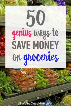 If your budget needs a makeover, reducing your food expenses is a great place to start. Check out this list of 50 easy ways to save money on groceries. When reading these money saving tips, you'll realize it's not all about coupons!