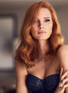 New hair copper blonde jessica chastain ideas Jessica Chastain, Beautiful Red Hair, Beautiful Redhead, Simply Beautiful, Gorgeous Girl, Beautiful People, Beautiful Women, Brunette Girls, Blonde Brunette