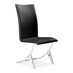 Delfin - Dining Chair Black