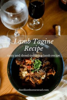 I've invited lamb-haters over for supper, and converted them after a few bites of lamb tagine. Lamb Tagine Recipe, Tagine Recipes, Lamb Recipes, Whole Food Recipes, Healthy Recipes, Tasty, Yummy Food, Fresh Herbs, The Fresh
