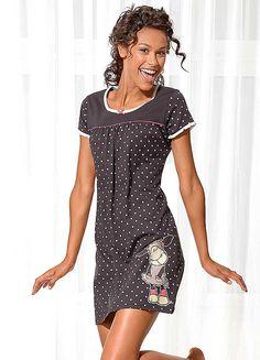 Polka Dot Nighties by Nici Summer Pajamas, Girls Pajamas, Frock Dress, Shirt Dress, Pyjamas, Nightwear, Night Gown, Lounge Wear, Polka Dot