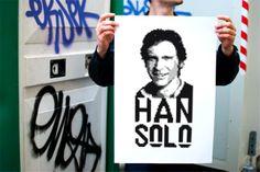 Artwork Han Solo.