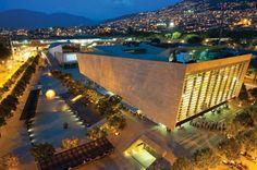 Parque De Los Deseos De Medellin Homeland, The Good Place, Mansions, Architecture, House Styles, Building, Outdoor Decor, Travel, Beautiful
