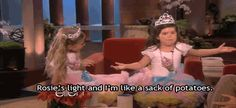 """When she promoted these flawless little girls to stardom. 