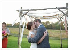 Michigan Farm Wedding -- I can has want to make this