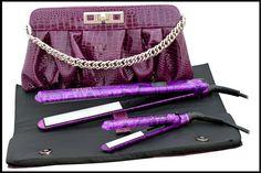Hair tools gift set Hair Tools, Nifty, Bags, Ideas, Fashion, Handbags, Moda, Fashion Styles, Fashion Illustrations