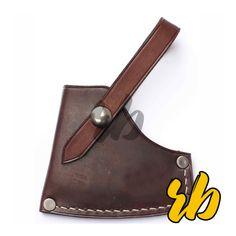 Outdoor Axe Custom Leather Sheath Axe Sheath, Knife Sheath, Gym Towel, Leather Gifts, Passport Cover, Custom Leather, Sport Wear, Workout Wear, Leather Working