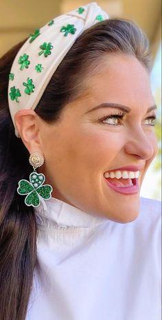 Calendar Girls, Emerald, Irish, Band, Earrings, Accessories, Jewelry, Fashion, Ear Rings