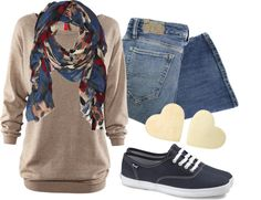 """""""Comfy in Keds"""" by qtpiekelso on Polyvore"""