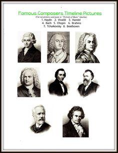 Suola Ricerca Mama: Classical Composers Parte II - ascoltatore medio (Include Stampabili gratis!)
