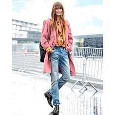 """10.6k Likes, 65 Comments - Caroline de Maigret  (@carolinedemaigret) on Instagram: """"""""Pink cookies in a plastic bag, gettin' crushed by buildings"""" rg @modemajeure"""""""