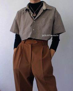 Teen Fashion Outfits, Edgy Outfits, Korean Outfits, Mode Outfits, Retro Outfits, Cute Casual Outfits, Vintage Outfits, 80s Fashion Men, Teen Girl Fashion