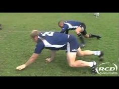 Divers exercices de rucking - Entrainement Rugby