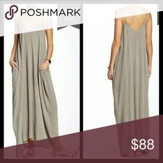 "😍Bohemian Gauze Maxi Dress NWT! This Bohemian Gauze Maxi Dress is NWT! Effortlessly float through the seasons with the pocketed design of this dreamy lightweight, gauze maxi dress. Features V-neck, Sleeveless, Adjustable spaghetti straps, Sharkbite hem Approx. 54"" shortest length, 60"" longest length, Material: 100% rayon, Machine wash cold.Take this easy dress anywhere!   🚫No Trades  🚫No Outside Transactions  ❔Please Ask Any Questions BEFORE You Buy 😄 💕Thank you for stopping by! Happy…"