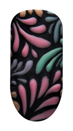 Mani Monday: Gel II's Day to Night Floral Nails - - NAILS Magazine