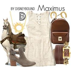 For the full Tangled DisneyBound series, visit disneybound.co!  #maximus #tangled #disneybound #disneystyle || ☀️ @leslieakay • • • #Disney #disneyland #disneyworld #tokyodisneyland #disneylandparis #shanghaidisneyland #mysolesociety
