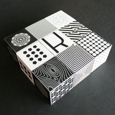 Personal Pattern by Miklós Ferencz, via Behance