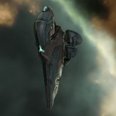 EVE Online Gallente Maulus frigate. This is the Gallente EWAR frigate, fits out with sensor dampeners. I enjoyed flying this one.