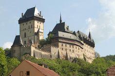Karlstejn Castle just outside Prague