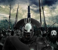 Black Orcs, Uruk Hai by Skinny22 on deviantART