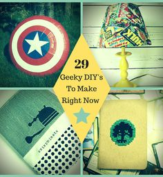 29 Geeky Crafts You Need to Make Right Now