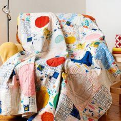 Nicole Calver's quick-sew Colour Bubble quilt