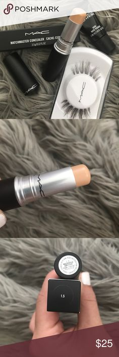 MAC Matchmaster Concealer 1.5 NEW AND UNUSED!! Everything listed in my closet is authentic guaranteed! Additionally, I always include samples of my favorite products in every package! MAC Cosmetics Makeup Concealer