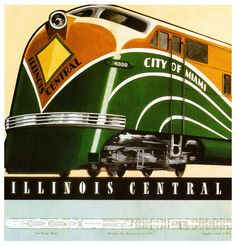 Illinois Central's City of Miami: