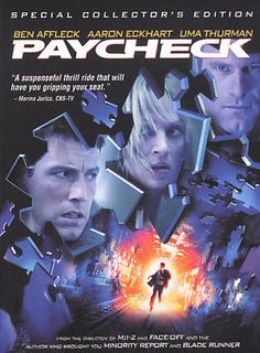 Paycheck (DVD, 2004, Widescreen) USED