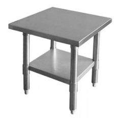 """WORKTABLE STAINLESS STEEL FOOD PREP. NSF CERTIFIED FREE SHIPPING (24"""" X 12"""")"""