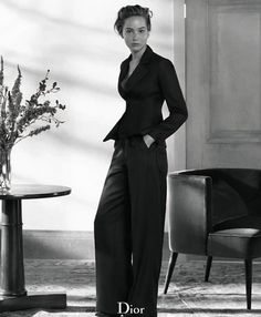 perfect Dior suit and JLaw body