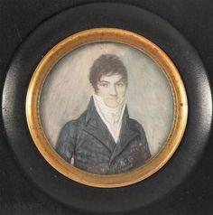 Herrenportrait um 1800