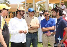 2009 UAE Vice President, Prime Minister and Ruler of Dubai His Highness Sheikh Mohammed bin Rashid Al Maktoum took part in the 120km Dubai Crown Prince Endurance Cup, held at Dubai International Endurance City in Seih Assalam today.
