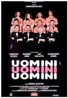 """QC287 - """"Uomini, Uomini, Uomini"""" / Christian De Sica 1995 / Comedy Drama / (Italy)"""