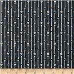 'dem Bones Organic Xray Black/White - Discount Designer Fabric - Fabric.com