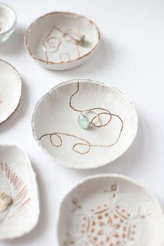 Décoration de table : fabriquer de jolis bols en argile