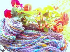 Handspun Art Yarn from a Fiber Art Bat 325 ounces by ladypainswick, $28.00  my newest yarn creation