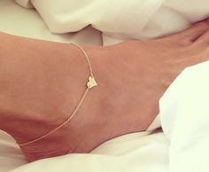 2015 Heart Design Ankle Bracelet