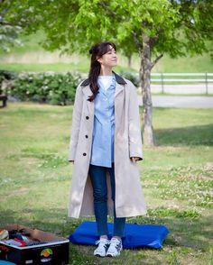 Seo Ji Hye, Duster Coat, Raincoat, Barbie, Dinner, Jackets, Clothes, Accessories, Beauty