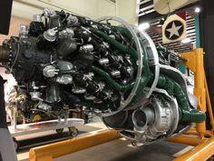 Pratt & Whitney R-4360 Wasp Major Engine - Kalamazoo Air Zoo [OC] [3264x2448] - Imgur