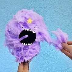 LUMP OFF! Oh my glob I want LSP candy floss so bad... I bet her lumps are lumpin' delicious